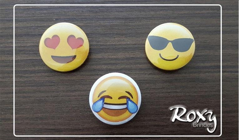 Botton Americano Personalizado Emoji