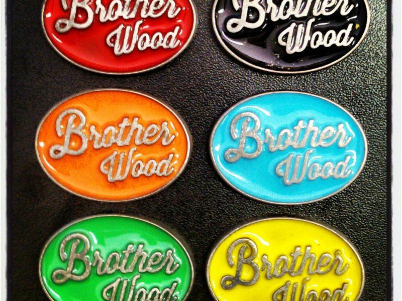 """Broche Personalizado para Empresa """"Brother Wood"""""""