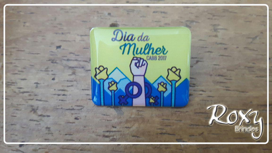 PIN Dia da Mulher