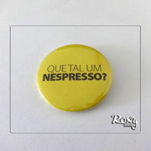 Botton Americano Personalizado - Nespresso