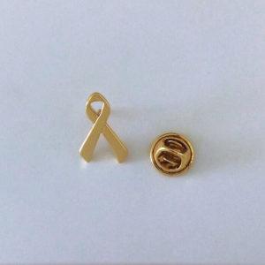 Pin Campanha Novembro Dourado