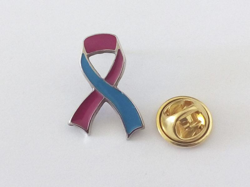Pin Personalizado Outubro Rosa e Novembro Azul